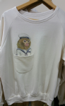 Ladies sweater 'Marine monkey' with pocket - free size
